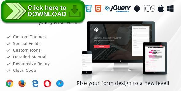 [ThemeForest]Free nulled download jQuery Forms - Elegant Elements from http://zippyfile.download/f.php?id=47029 Tags: ecommerce, contact form, css, css form, form, forms, html form, javascript, jquery, jquery form, jquery form elements, jquery form example, jquery form plugin, jquery mobile form, jquery submit form, style form input