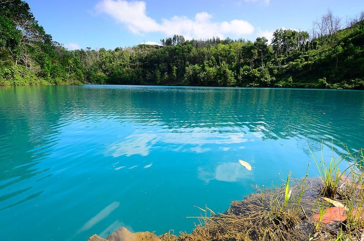 Lagoa Azul em Serra do Navio - Amapá - Foto: WWF