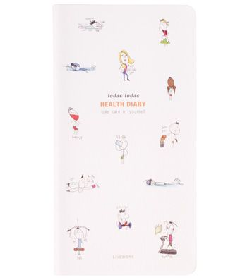 Планинг для диеты Todak Health Diary - Type A