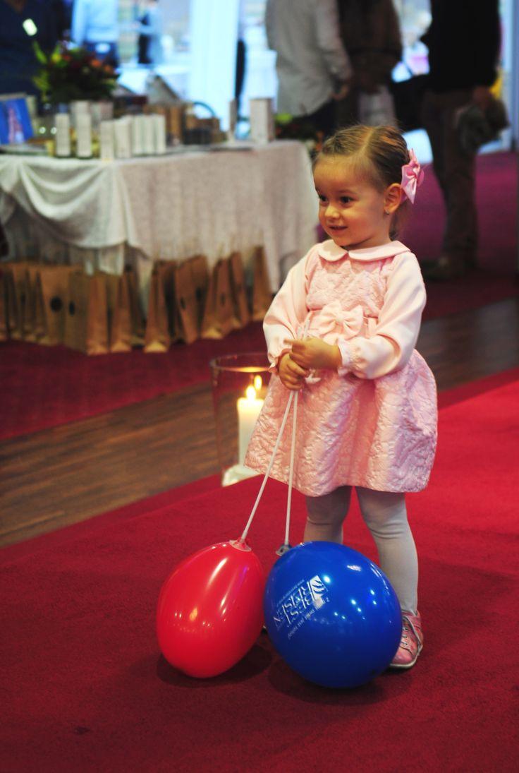 Jedna z modelek. :) #kids #wedding #targiślubne