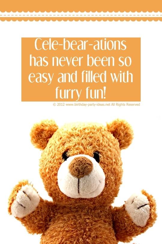 Build a Bear Birthday Parties