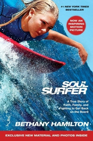 Soul Surfer-The biography of professional surfer Bethany Hamilton and her journey back to surfing after a shark attack.Red Lights:None!Bonus:Photos of Bethany and pages of interviews with AnnaSophia Robb,Sean Macnamara and Lorraine Nicholson.