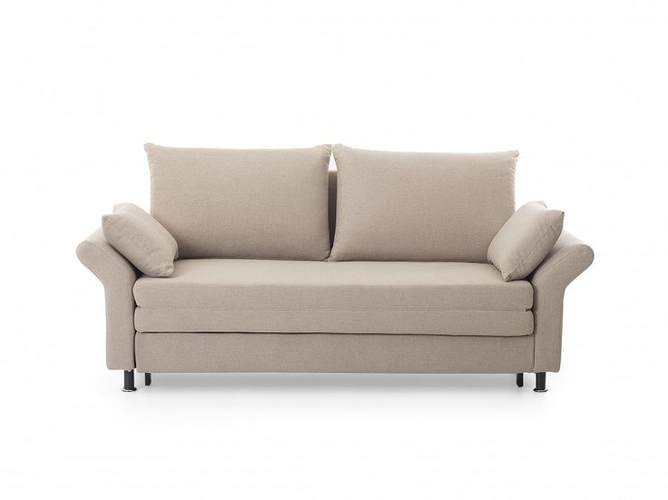 In a Scandinavian style - a multifunctional reclining sofa bed EXETER in a soothing beige colour with comfortable cushions. Check Beliani UK for more design inspirations www.beliani.co.uk! #beliani #moderninteriorsdesign #sofabeds #sofa #bedroom #livingroomideas #couch #sofabed