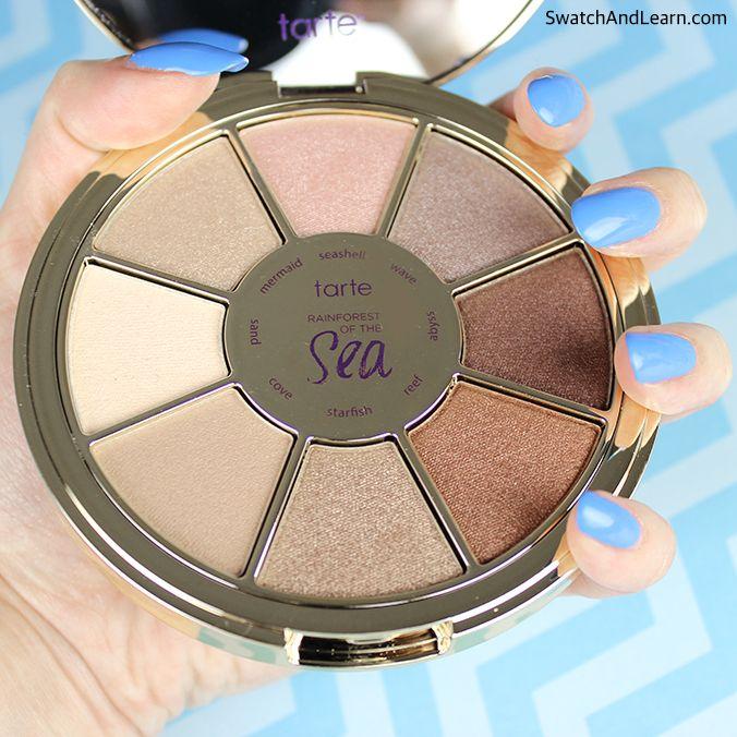 Tarte Rainforest of the Sea eyeshadow palette #tartecosmetics #tarteunderthesea