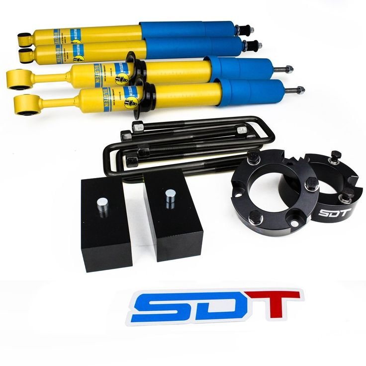 2005-2016 Toyota Tacoma Full Leveling Lift Kit with BILSTEIN STRUTS