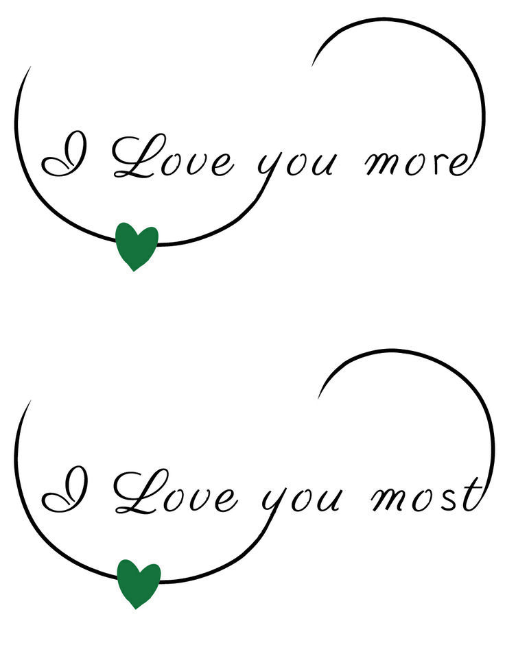 i love you more tattoos - Bing Images