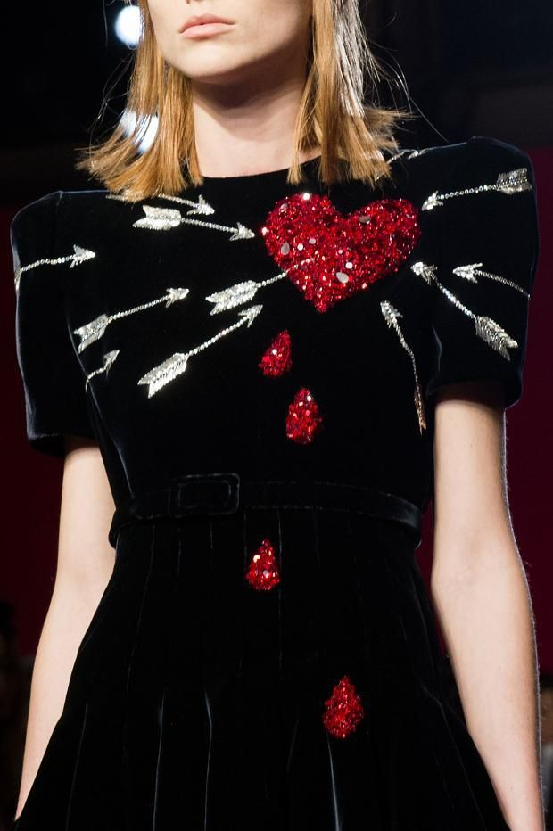 "mulberry-cookies: "" Schiaparelli Fall 2014 Haute Couture (details) """