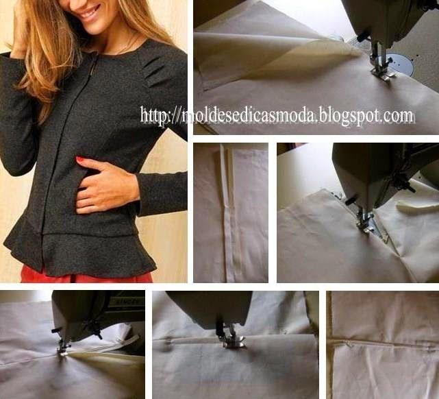 PREGAR FECHO/ZIPER ESCONDIDO/PESTANA Nos acabamentos finais dos modelos de roupa a forma como pregar fecho/ziper escondido/pestana tem muita importância. Q