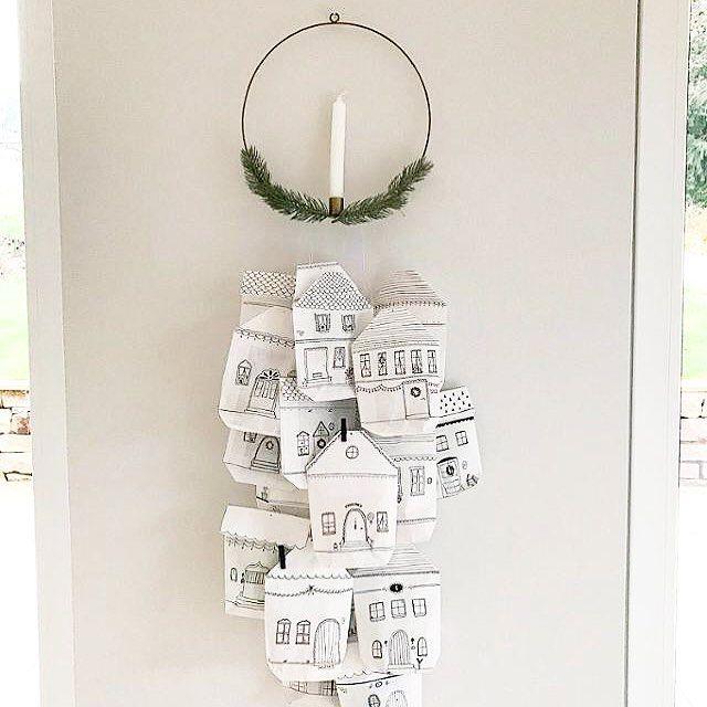 """Gefällt 693 Mal, 19 Kommentare - COUCH Magazin (@couch_magazin) auf Instagram: """"Bastelt ihr auch schon fleißig Adventskalender? 🎄 2️⃣4️⃣ Wir sind ganz verliebt in die schöne Idee…"""""""