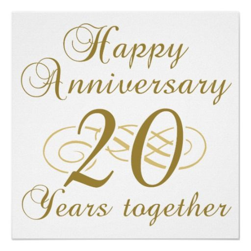 Happy Birthday 20th Quotes: 20th Wedding Anniversary Wishes, Messages And Quotes