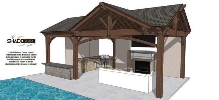 Hallmark Quality Of Gazebos Pavilions Timber Frame Pavilion Gazebo Building A Pergola