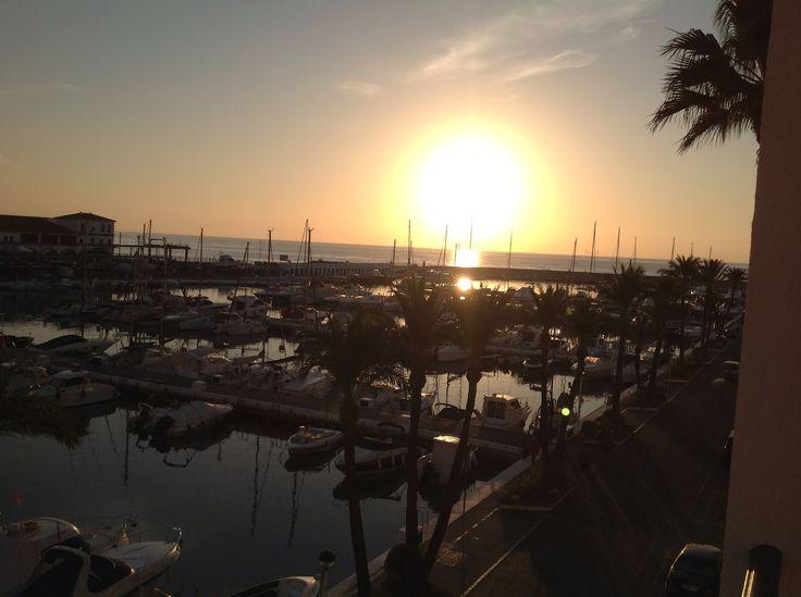 Sunrise At Puerto De La Duquesa