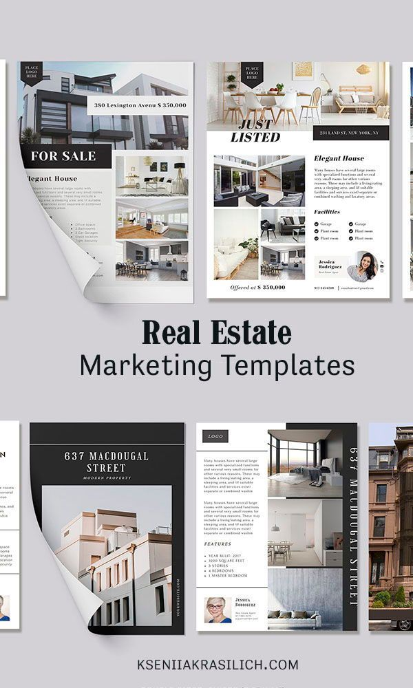 Real Estate Printable Brochure Canva Template Promotional Etsy In 2021 Listing Presentation Real Estate Real Estate Brochures Luxury Real Estate Brochure