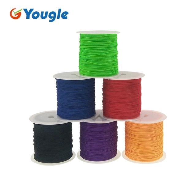Yougle 0 75mm 95lb Paracord Rope 1 Stand 328ft 100m Paracord Parachute Cord Tent Rope Survival Kit Wholesale Fishing Line Parachute Cord Paracord Fishing Line