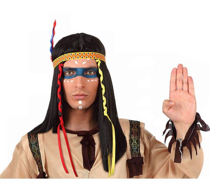 resultado de imagen para disfraz maquillaje hombre indio