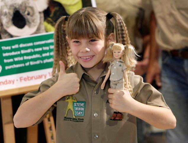Bindi Irwin, age 9