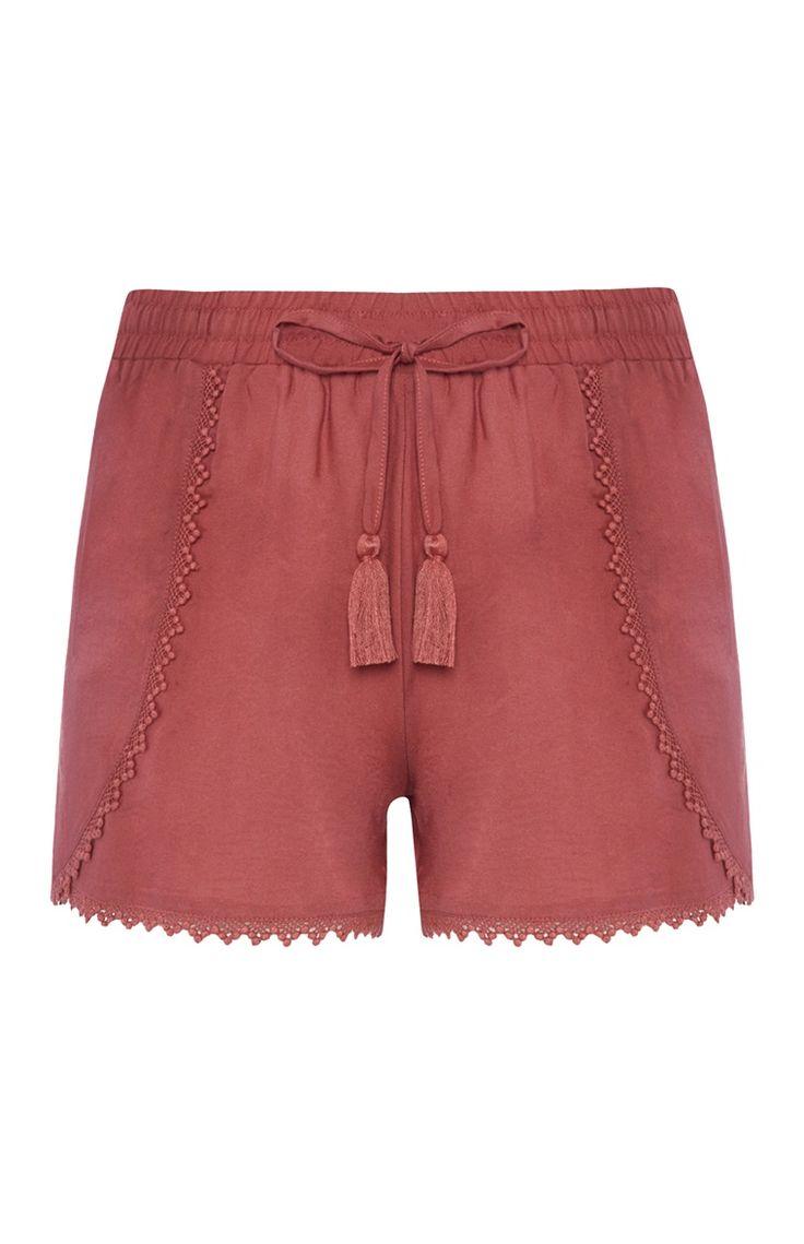 Red Terracotta Short