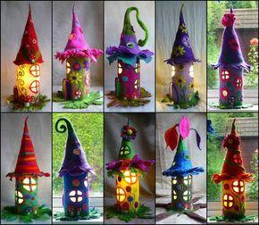 Wonderful DIY Fantastic Fairy House from Paper Roll | WonderfulDIY.com