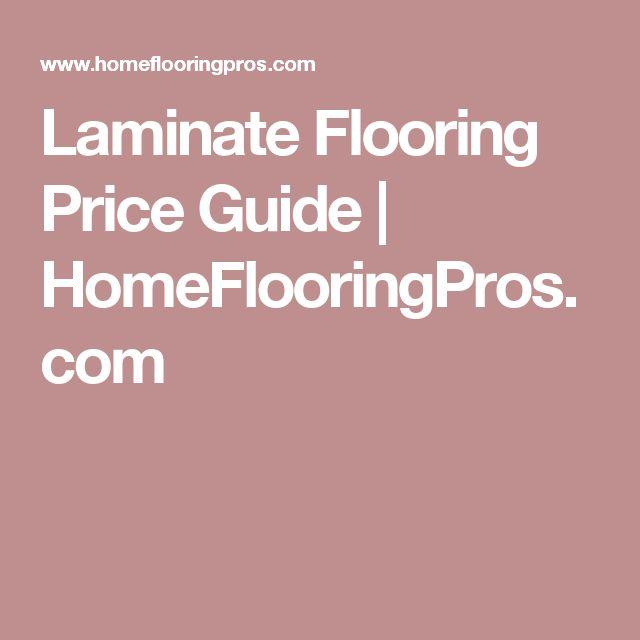 Laminate Flooring Price Guide | HomeFlooringPros.com