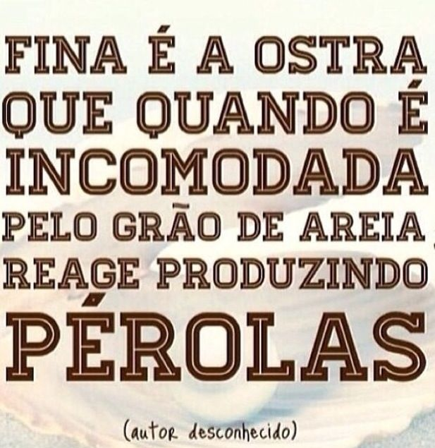 #pérolas