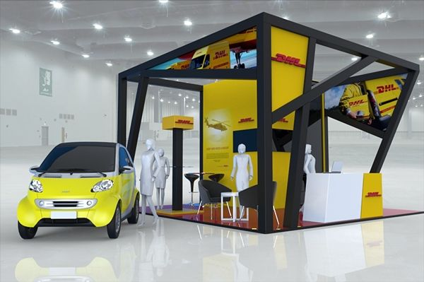 DHL - Booths on Behance