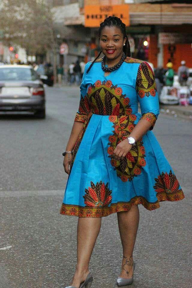African Fashion Ankara Kitenge African Women Dresses African Prints Braids Nigerian