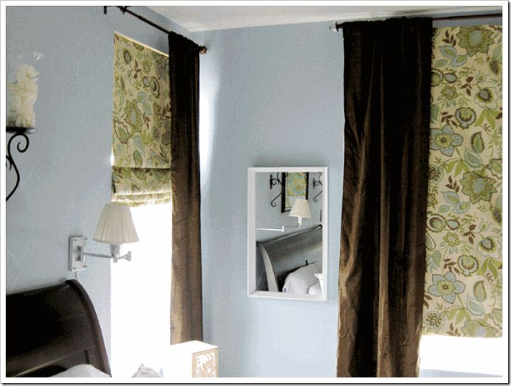 turn cheap blinds into roman shades