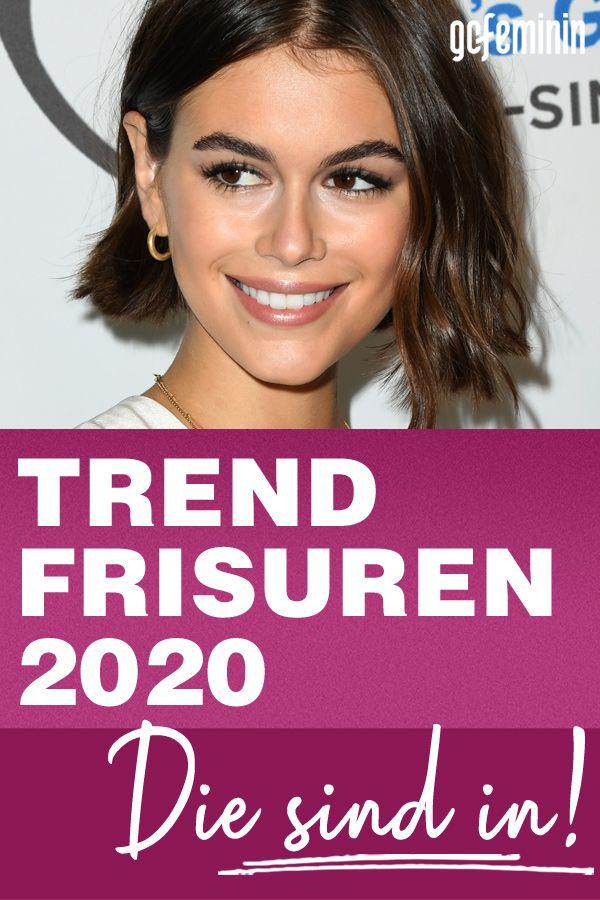 Trendfrisuren 2020 Diese Schnitte Sind Jetzt In In 2020 Mittellange Haare Frisuren Einfach Haarschnitt Frisuren