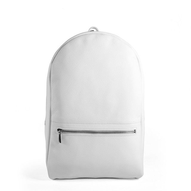 White Light/White Heat  #White #backpack #handmade #handcrafted #madeinitaly #tmr_rso #leather #pale #light #heat