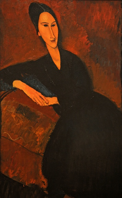 Amedeo Modigliani - Anna Zborowska, 1917