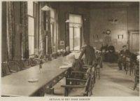 eetzaal israelitisch oude mannen en vrouwenhuis st jacobstraat den haag 1910