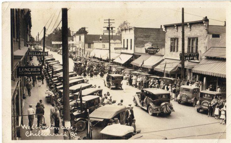 Chilliwack, parade, 1930 | by bbradleyaway