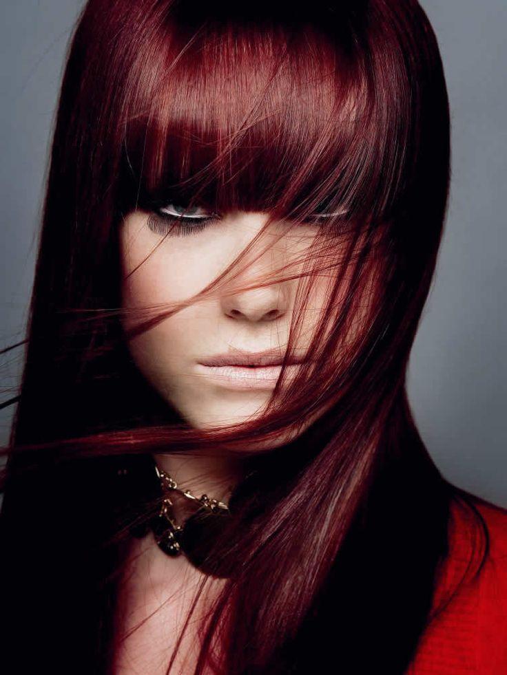 Peinados modernos cabello rojo para el 2012 3