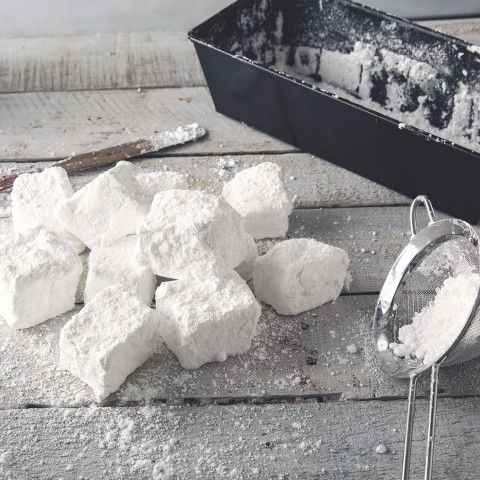 Got a weekend of camping coming up? These homemade Vanilla Marshmallows are way better than anything yo ucan buy from the store!
