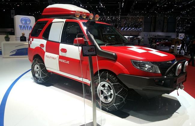 Upcoming the real SUV Tata Safari Storme 2014 from Tata Motors India