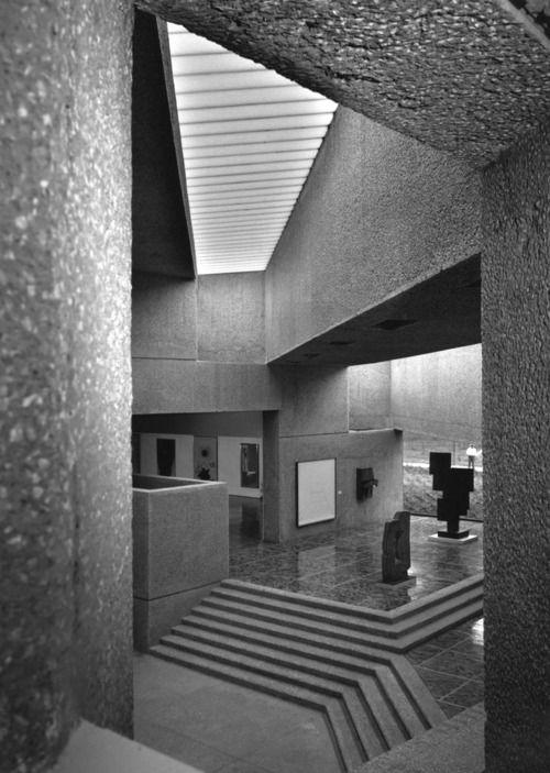museo tamayo - méxico df - teodoro gonzález + abraham zabludovsky - 1981