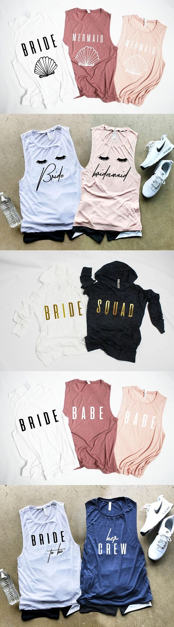 will you be my bridesmaid proposal tanks and workout gear gift ideas