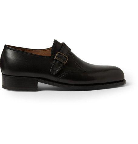 J.M. Weston 531 Leather Monk Strap Shoes  | MR PORTER
