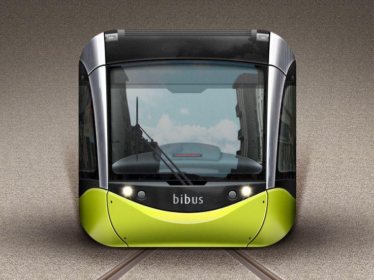 Tramway of Brest - iOS Icon - By Gwénolé Jaffrédou