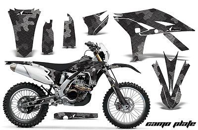 AMR RACING GRAPHIC DECAL STICKER KIT DIRT BIKE YAMAHA WR 450 WR450 - 2012 CAMO B