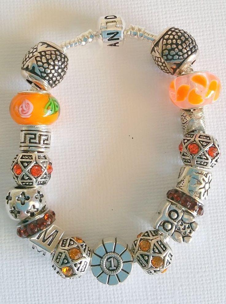 Beautiful charm bracelets staring from $45 - http://www.ebay.com.au/itm/251822313554?ssPageName=STRK:MESELX:IT&_trksid=p3984.m1555.l2649
