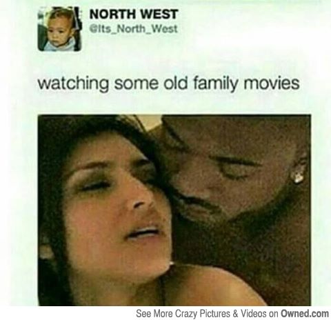 North West's family videos