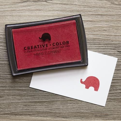 Ellen Hutson LLC - Mama Elephant Creative Color Ink Pad, Apple, $6.00 (https://www.ellenhutson.com/mama-elephant-creative-color-ink-pads-apple/)