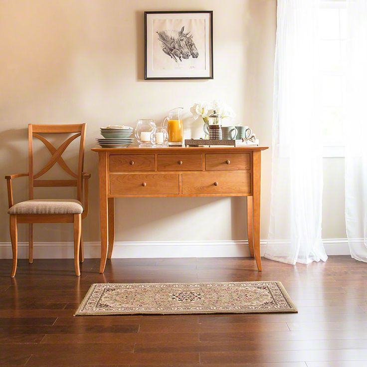 This beautifully designed Classic Shaker Flare Leg Hunt Board features elegant flared legs and a clean, simple design. Each piece is expertly crafted in Vermont using sustainably harvested woods. Enjoy the latest in eco-friendly, luxury dining room furniture.