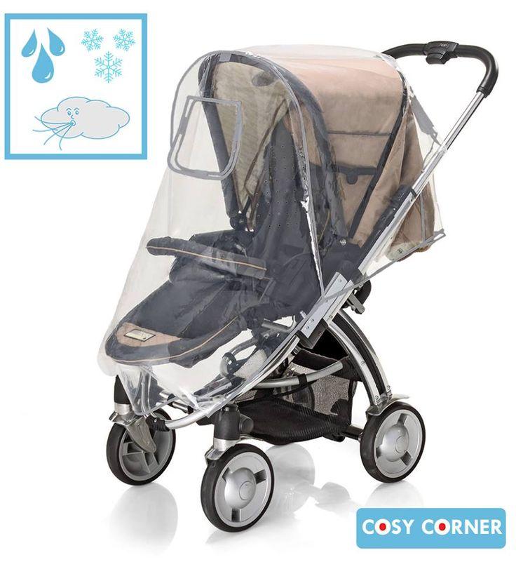 Combi Κουκούλα Βροχής για Καρότσι - Προστατεύει το μωρό σας από τη βροχή όταν είσαστε έξω για βόλτα με το καρότσι. Επίσης κατάλληλο για όταν έχει πολύ αέρα ή χιονίζει. http://goo.gl/oZJG3O