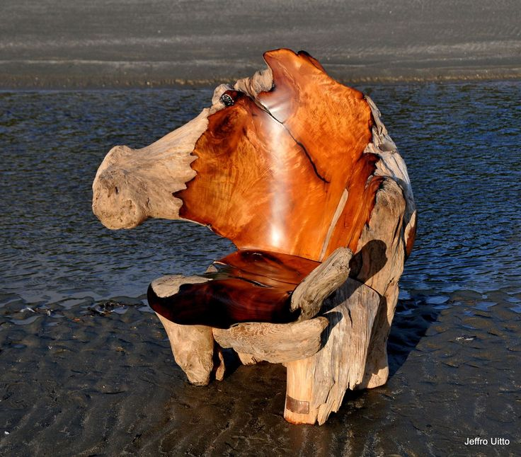 These gorgeous sculptures started as driftwood on a beach – Cottage Life