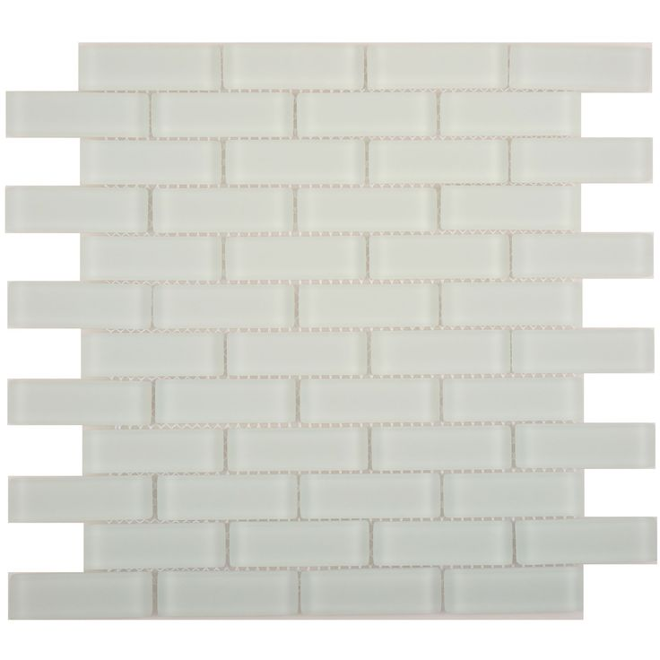 """Sheet size: 11 5/8"""" x 11 5/8""""Tile Size: 7/8"""" x 2 7/8""""Tiles per sheet: 48Tile thickness: 1/4"""" Grout Joints: 1/8""""Sheet Mount: Mesh Backed Sold by the sheet"""