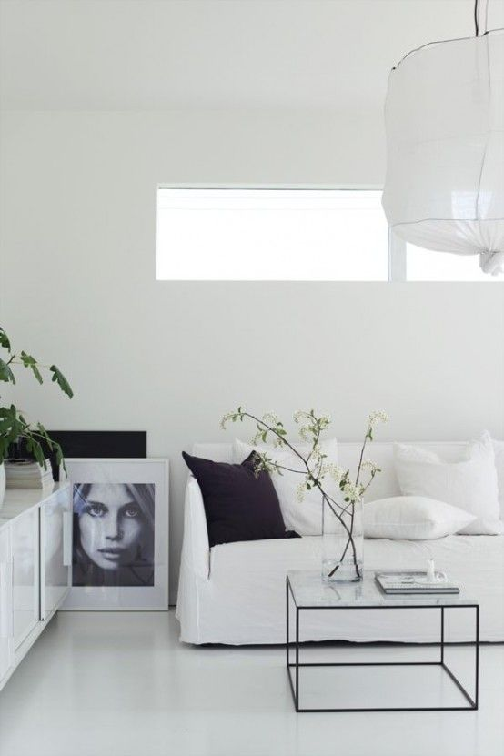 30 Adorable Minimalist Living Room Designs | DigsDigs