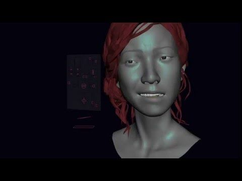 The super simple 3d face rig done by Min Shin - YouTube