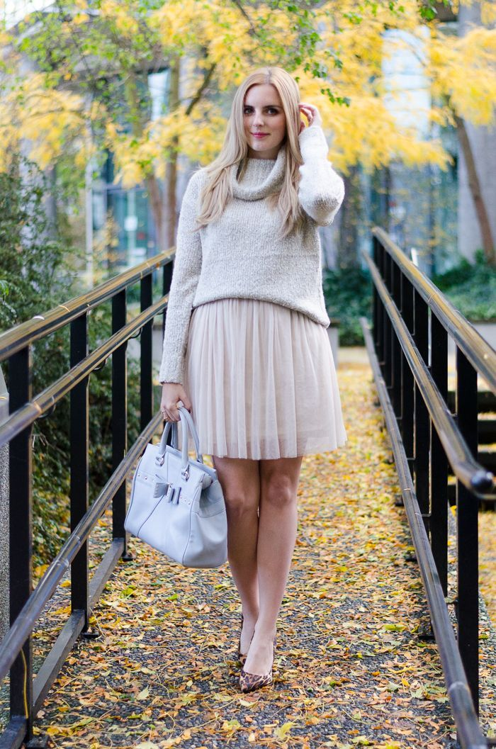 The Urban Umbrella | A Vancouver Style Blog: A TOUCH OF TULLE